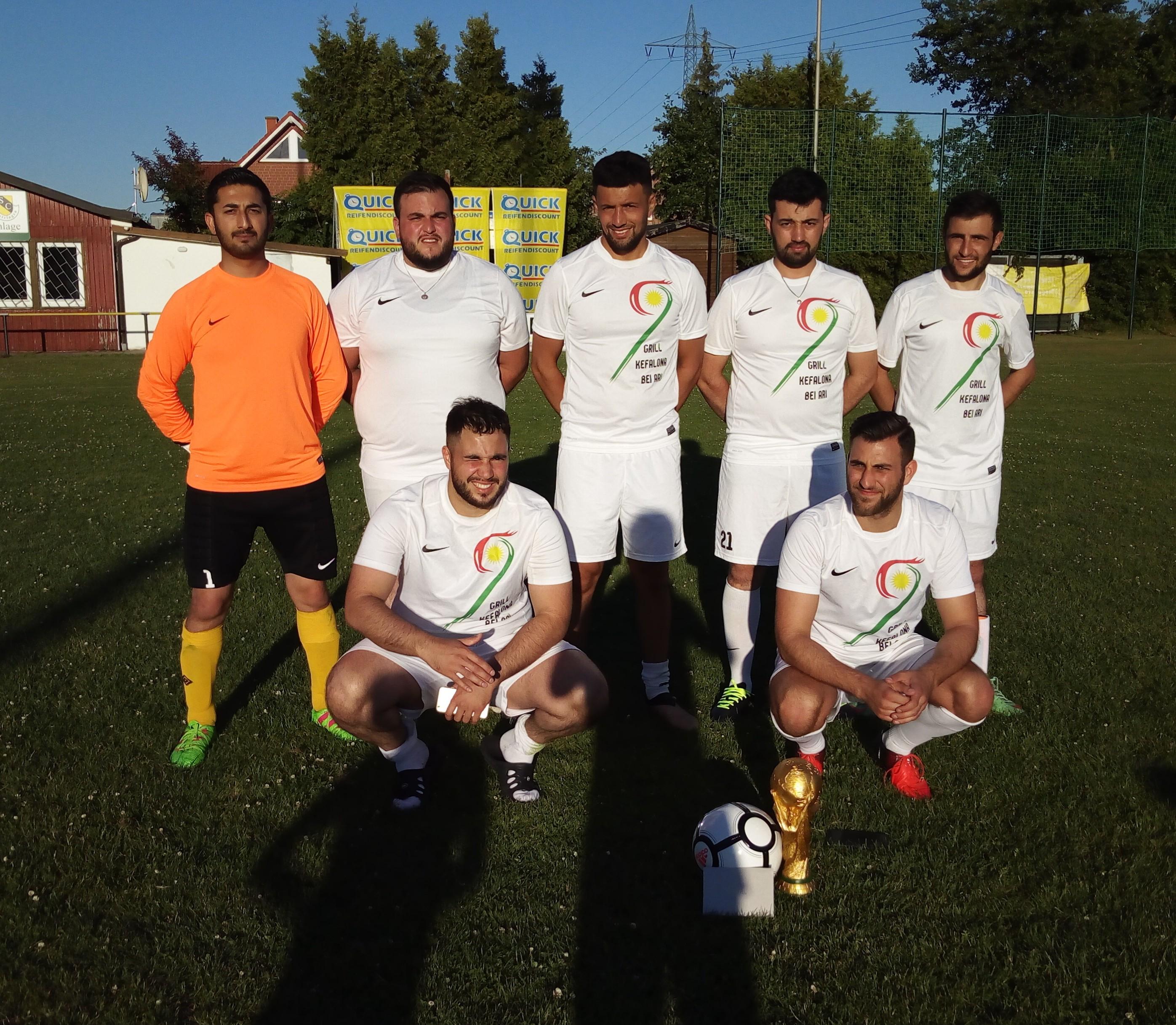 1. Sieger Frankreich Kurd United